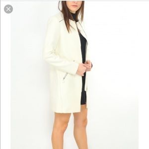 Zara Woman Ivory Jacket